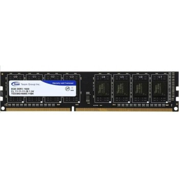 Team Group DDR3 8Gb/1600MHz, CL11-11-11-28, Black, TED38G1600C1101