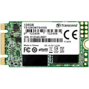 SSD диск Transcend 430s 128GB, (TS128GMTS430S)