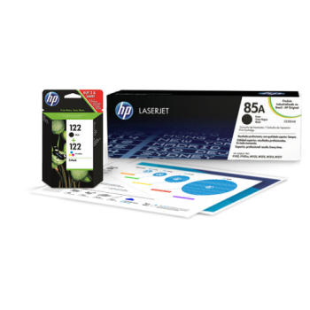 HP Cyan Print Cartridge for Color LaserJet 2550/2820/2840/2550L, up to 2000 pages. Q3971A