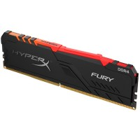 Kingston HyperX Fury Black RGB 8GB 3466MHz DIMM DDR4, (HX434C16FB3A/8)
