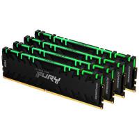 ОЗУ Kingston Fury Renegade RGB 128GB (4х32GB) 3600MHz DIMM DDR4, (KF436C18RBAK4/128)
