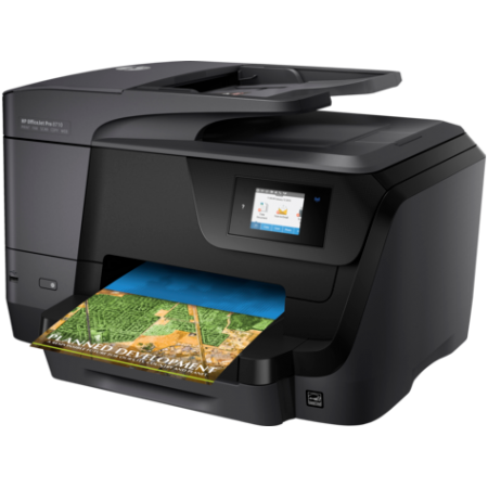 МФУ HP OfficeJet Pro 8710 All-in-One Printer (A4) D9L18A